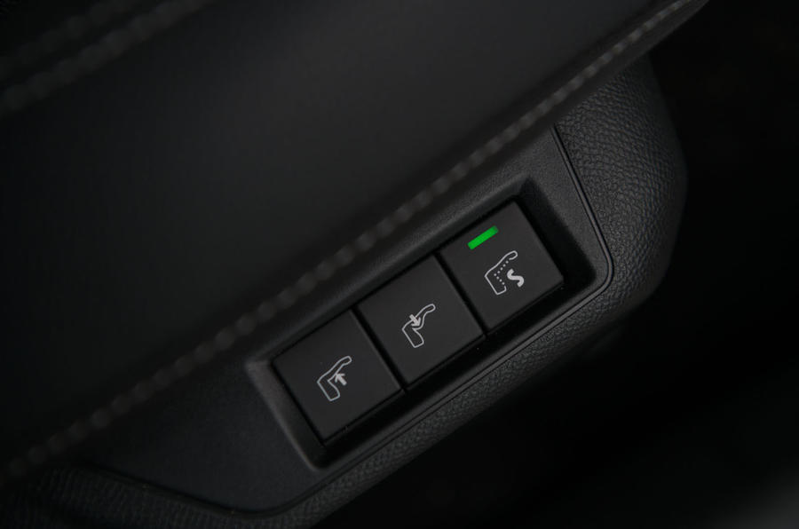 Vauxhall Corsa 2020 long-term review - heated seats