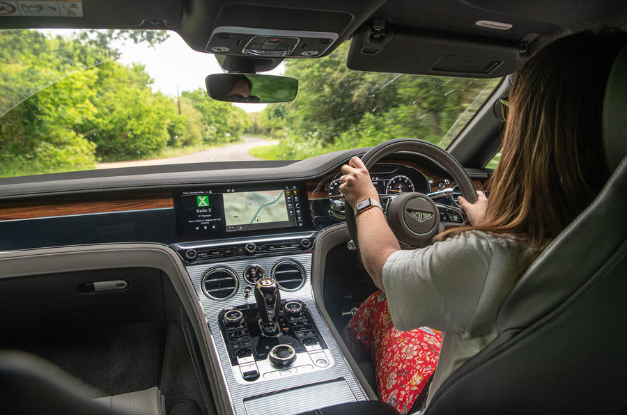 Bentley Continental GT 2019 long-term review - Rachel Burgess driving