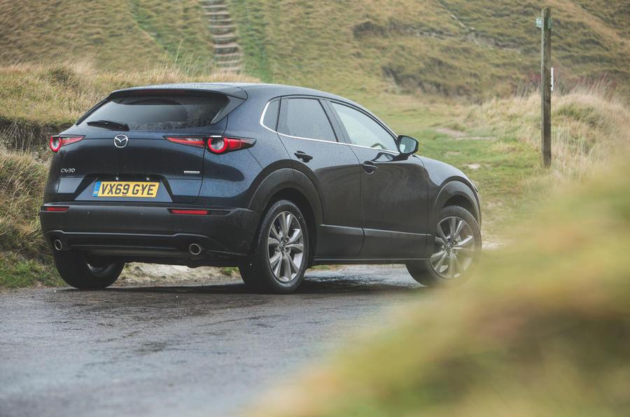 22 Mazda MX 30 2021 : examen à long terme de l'arrière statique
