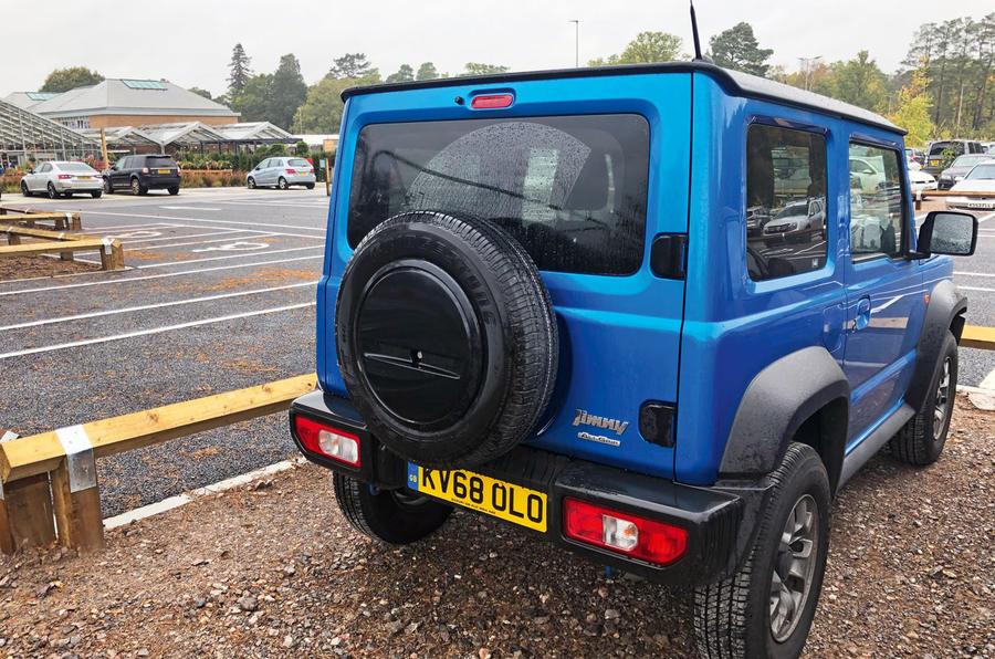 Suzuki Jimny 2019 long-term review - garden centre