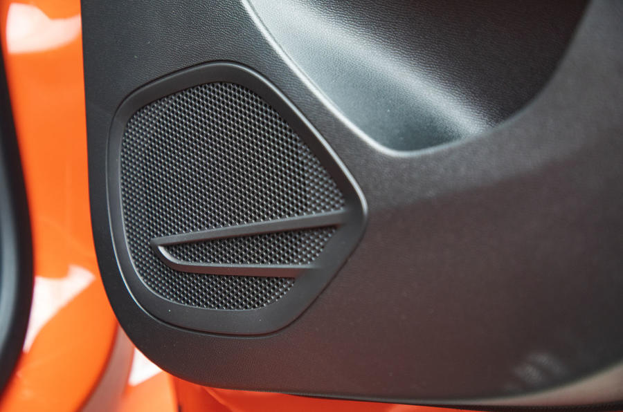 Vauxhall Corsa 2020 long-term review - speakers