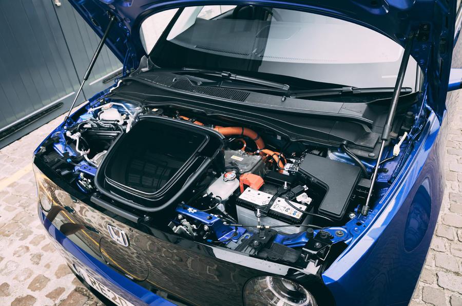 Revue à long terme de la Honda e 2020 - batterie
