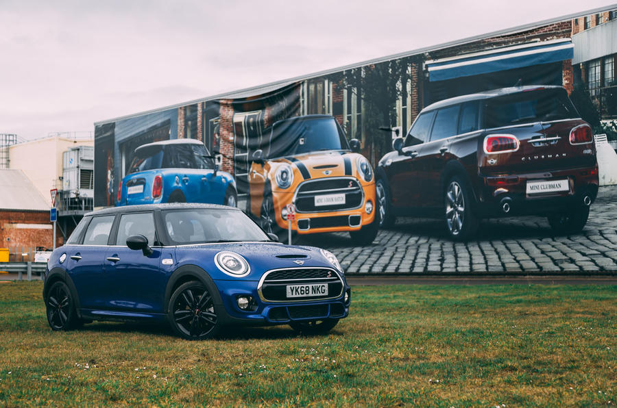 Mini 5-door Cooper S 2019 long-term review - mini factory - signage