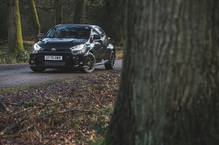 23 Toyota GR Yaris 2021 : examen à long terme du front statique