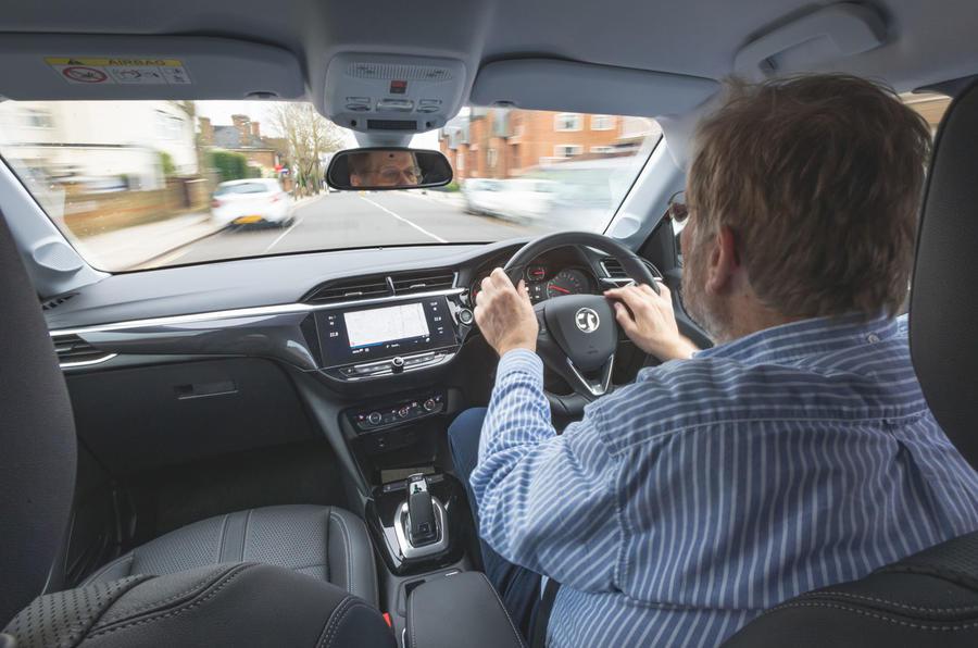 Vauxhall Corsa 2020 long-term review - Steve Cropley driving