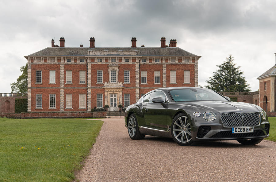 Bentley Continental GT 2019 long-term review - static front