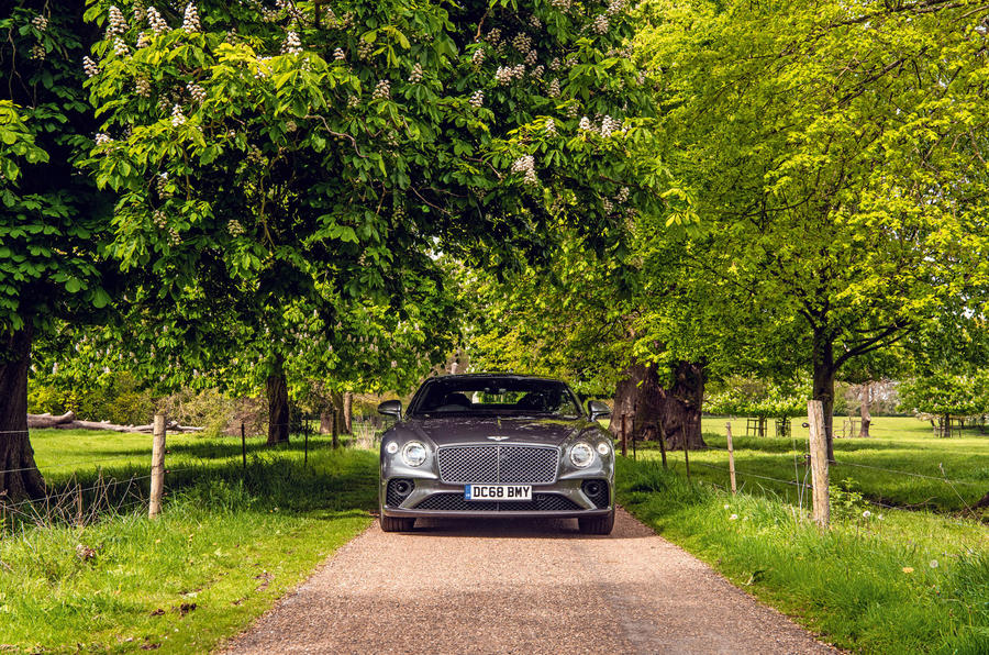 Bentley Continental GT 2019 long-term review - static nose