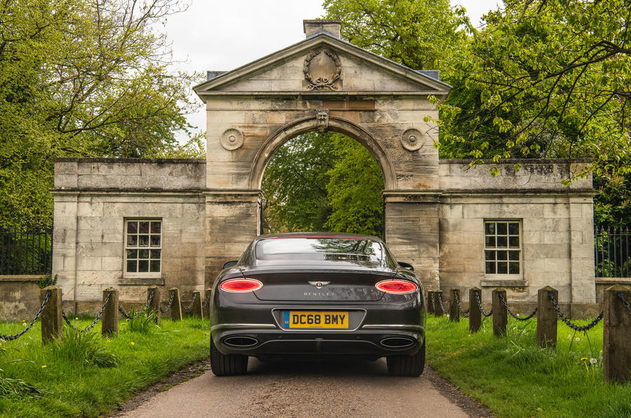 Bentley Continental GT 2019 long-term review - static rear