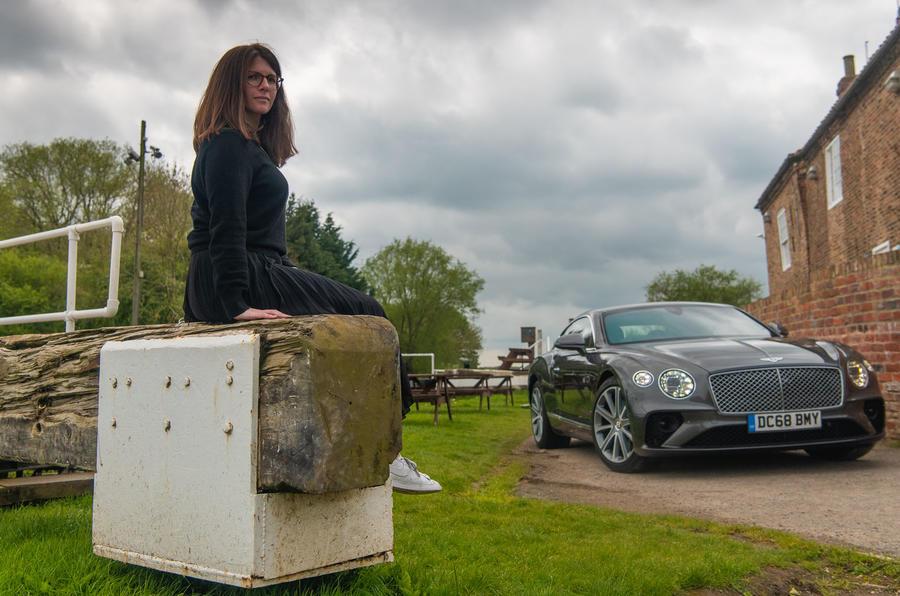 Bentley Continental GT 2019 long-term review - Rachel Burgess static