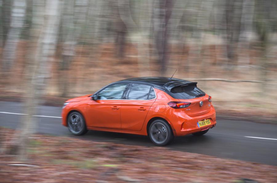 Vauxhall Corsa 2020 : révision à long terme - côté