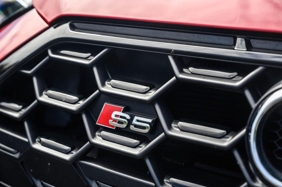 Audi S5 Sportback 2020 long-term review - nose