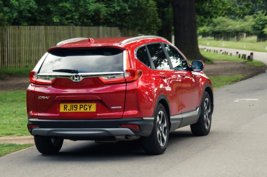 Honda CR-V hybrid 2019 long-term review - hello rear