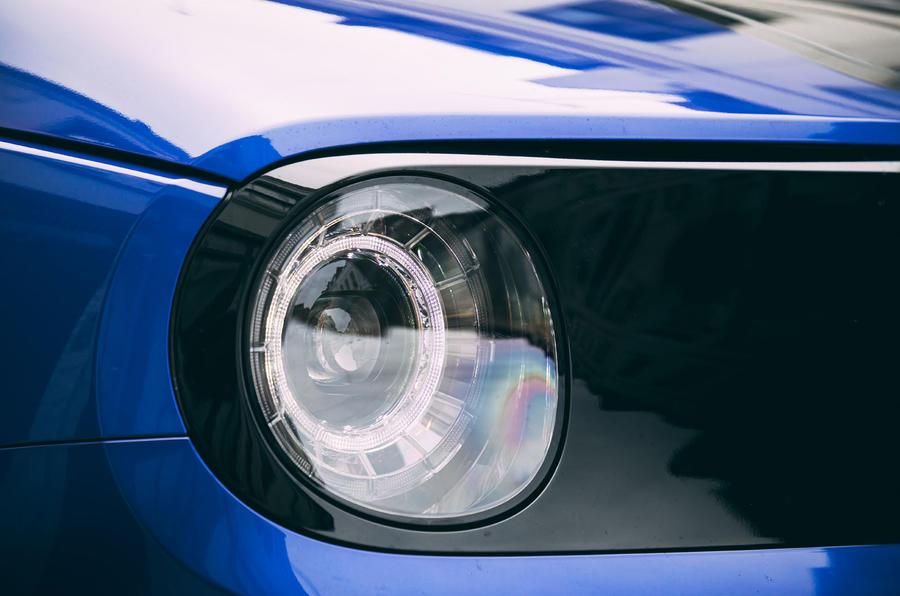 Honda e 2020 : essai à long terme - phares