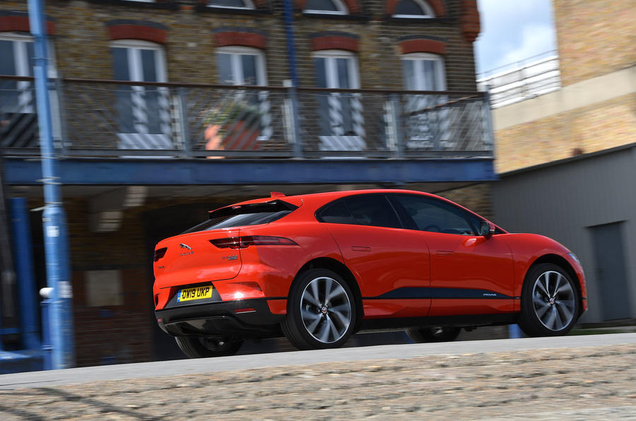 Jaguar I-Pace 2019 long-term test review - hero rear