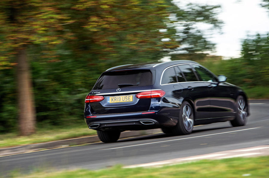 Mercedes E300de 2019 long-term review - hero rear