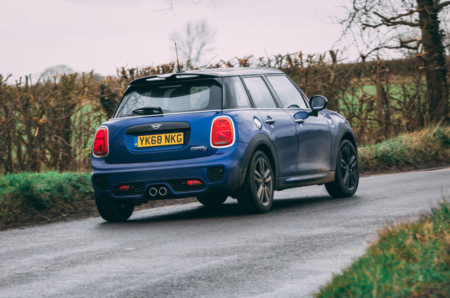 Mini 5-door Cooper S 2019 long-term review - hero rear