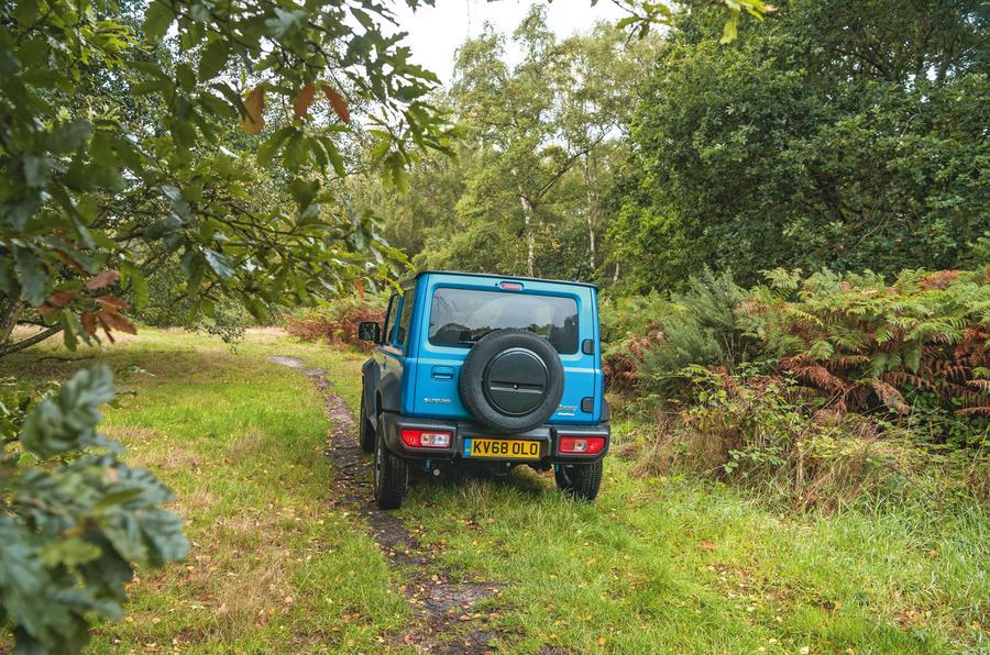 Suzuki Jimny 2019 long-term review - hero rear