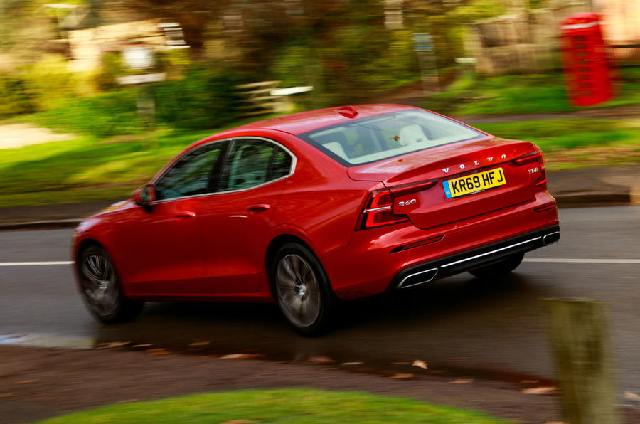 Volvo S60 T5 2020 long-term review - hero rear