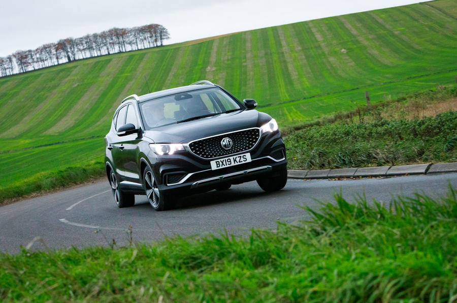 MG ZS EV 2020 long-term review - cornering