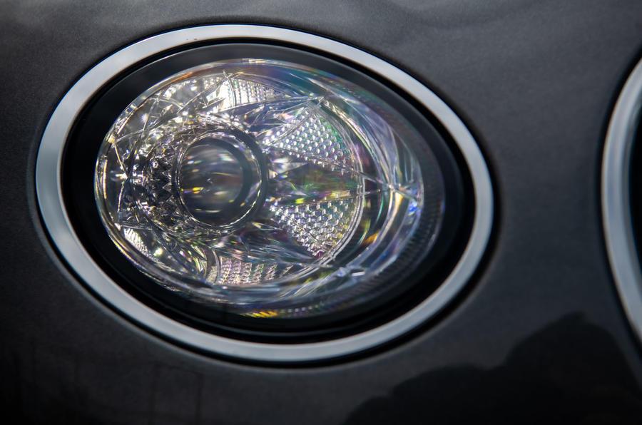 Bentley Continental GT 2019 long-term review - headlights