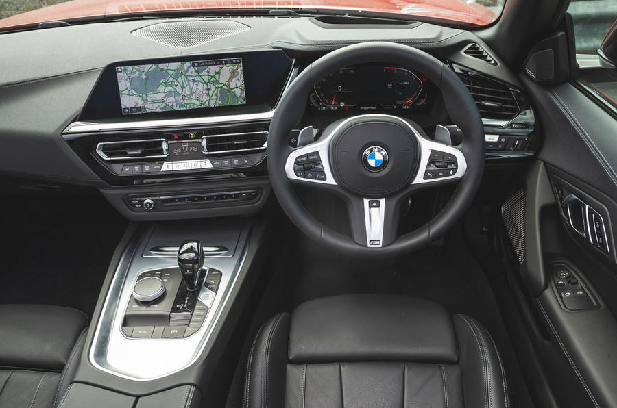 BMW Z4 2019 long-term review - dashboard