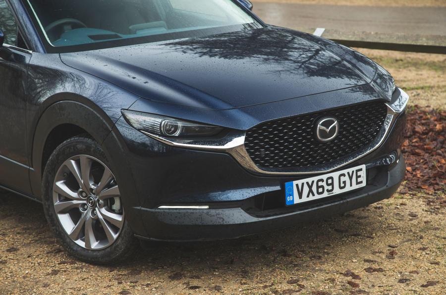 4 Mazda MX 30 2021 : examen à long terme du nez