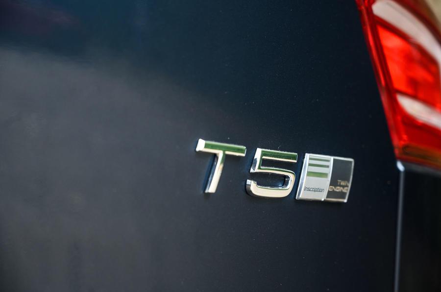 Volvo XC40 Recharge T5 2020 : bilan à long terme - badge arrière