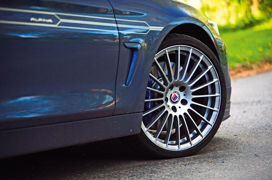 Alpina B4 S 2019 long-term review - alloy wheels