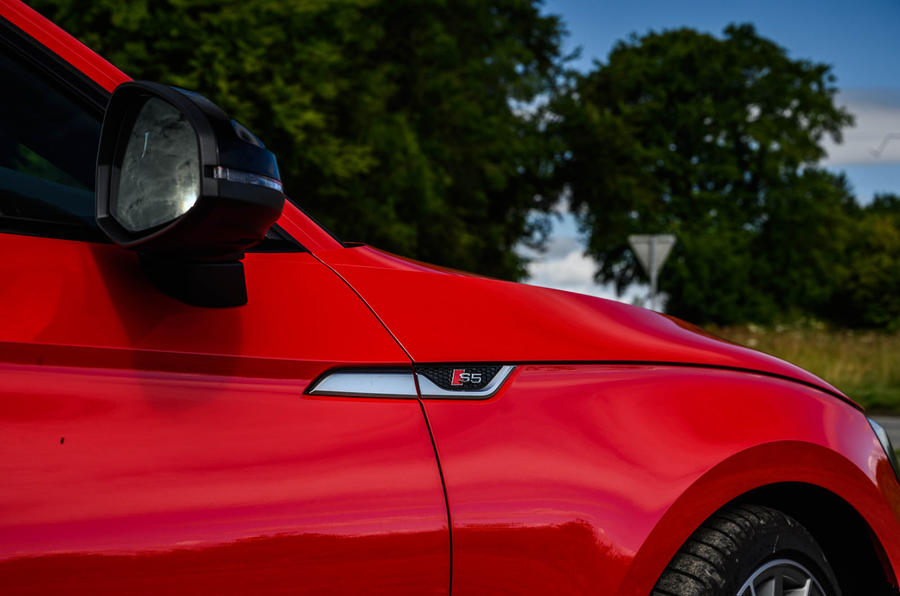 Audi S5 Sportback 2020 long-term review - S badge