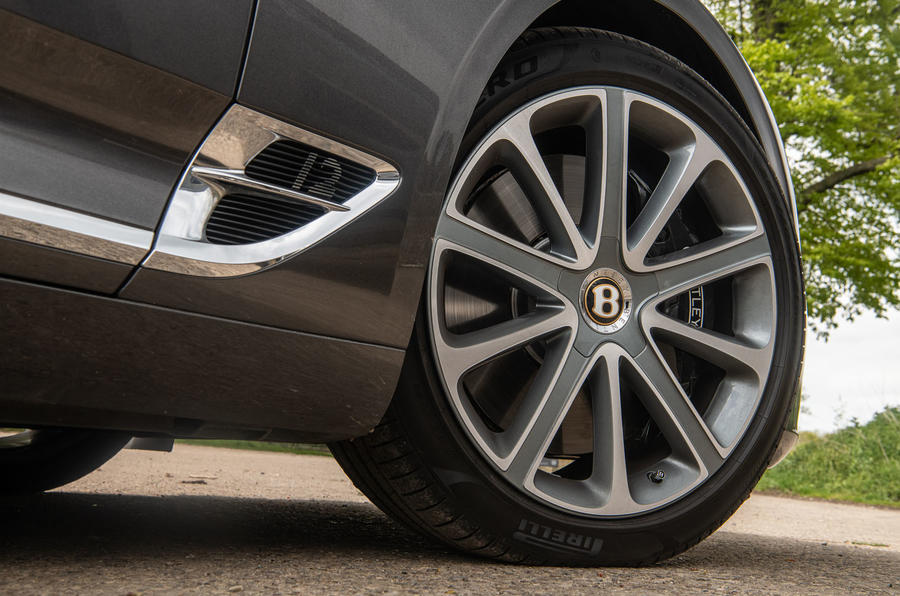 Bentley Continental GT 2019 long-term review - alloy wheels
