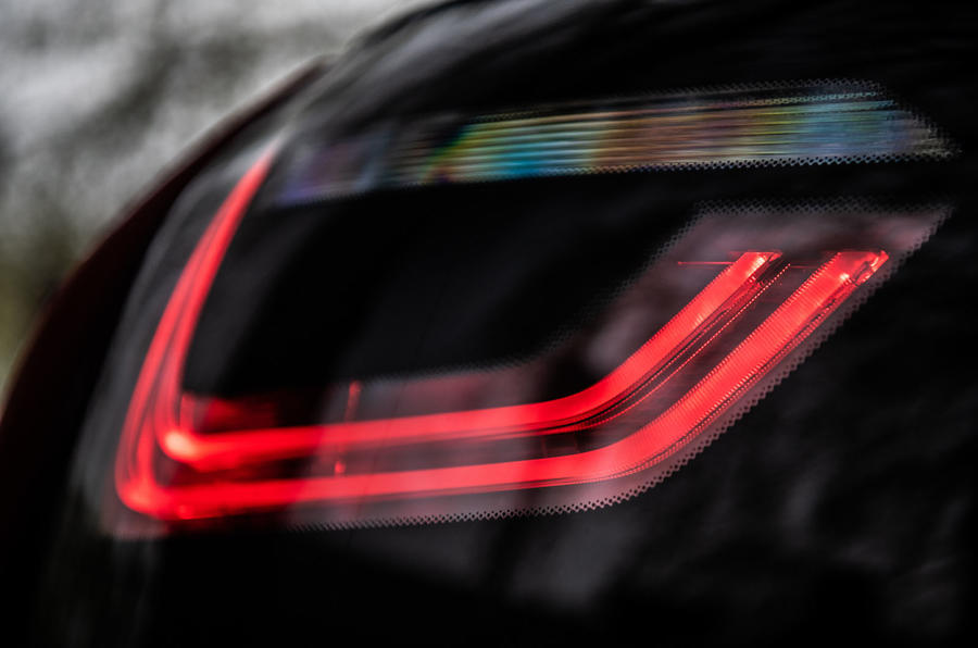 BMW i3S 2019 long-term review - rear lights