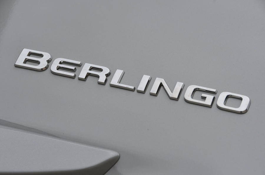 Citroen Berlingo 2019 long-term review - badge