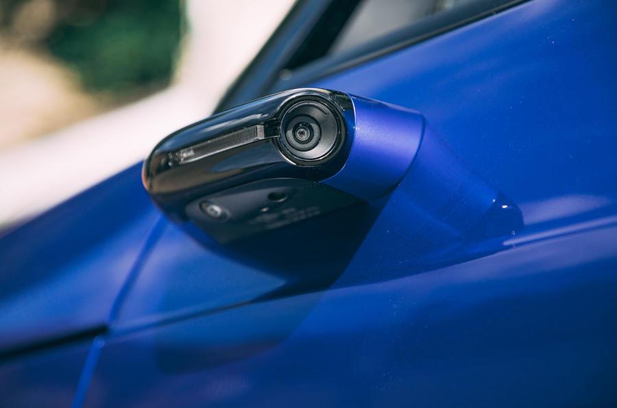 Honda e 2020 : essai longue durée - rétroviseurs extérieurs
