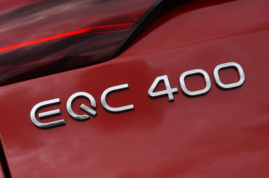 Mercedes-Benz EQC 2020 long-term review - rear badge
