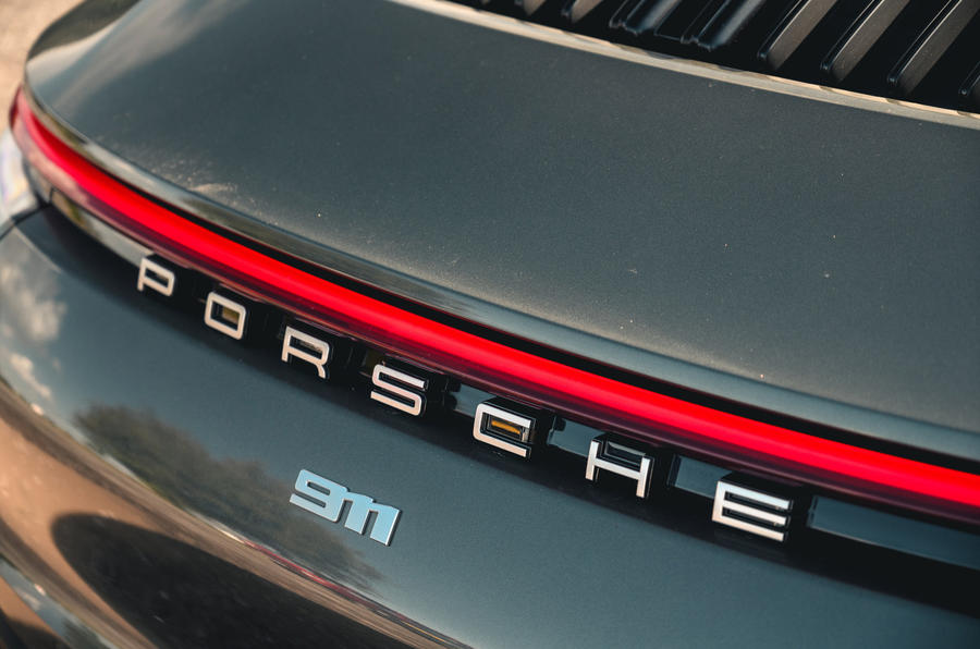Porsche 911 Carrera 2020 long-term review - rear lights