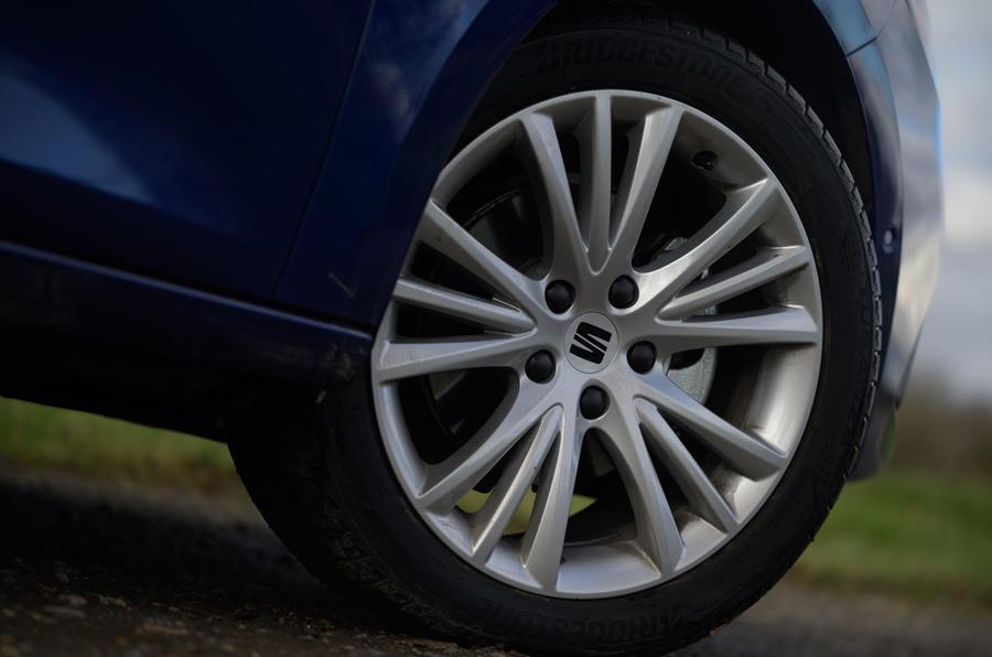 Seat Leon TSI 2021 long-term review - alloy wheels