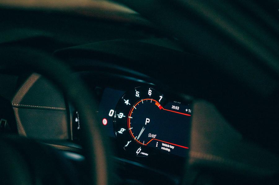 Test & Avis du Toyota GR Supra 2020 - instruments