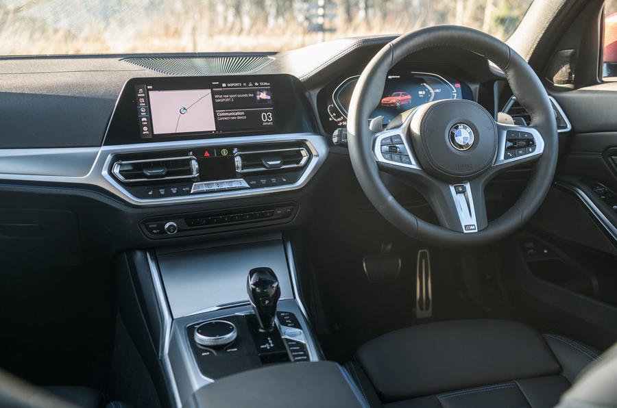 BMW 3 Series 330e 2020 long-term review - dashboard