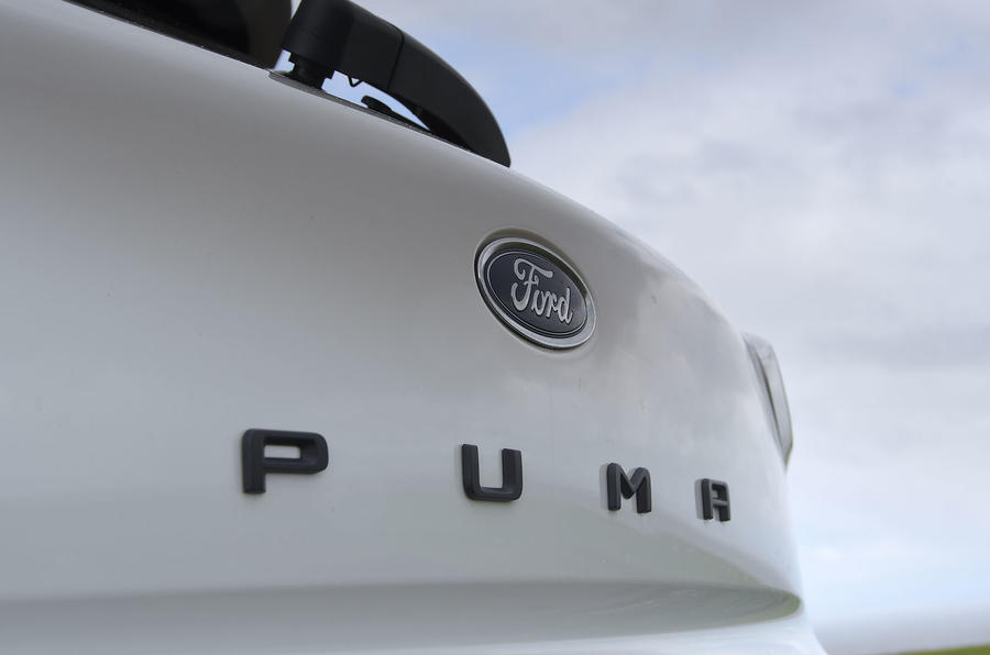 Ford Puma 2020 long-term review - rear badge