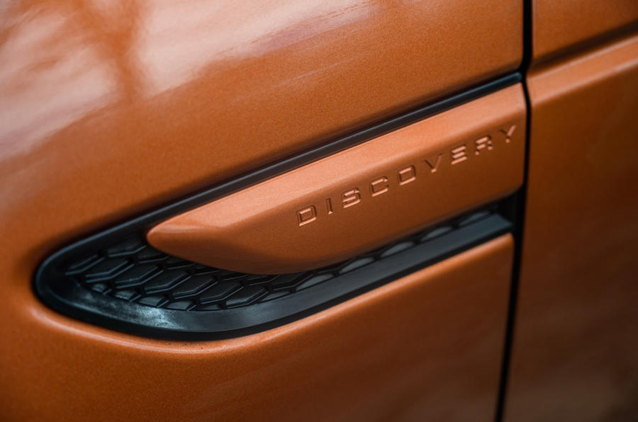 Land Rover Discovery Sport 2020 long-term review - side details