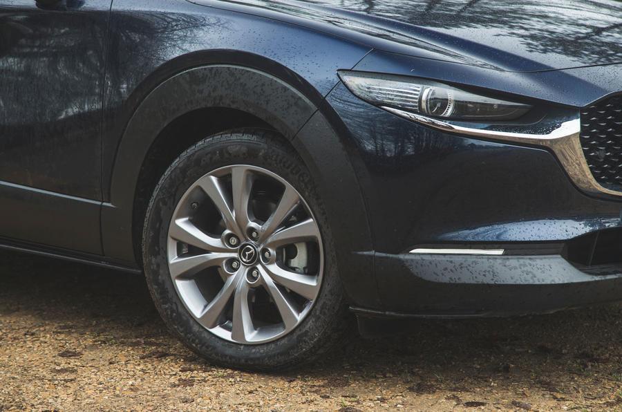 6 Mazda MX 30 2021 : révision à long terme des jantes en alliage