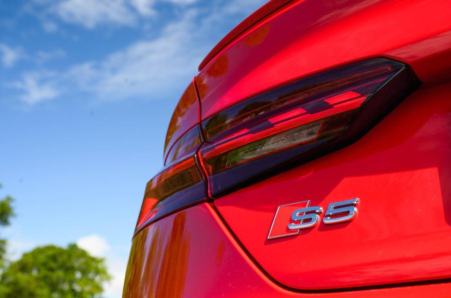Audi S5 Sportback 2020 long-term review - rear lights