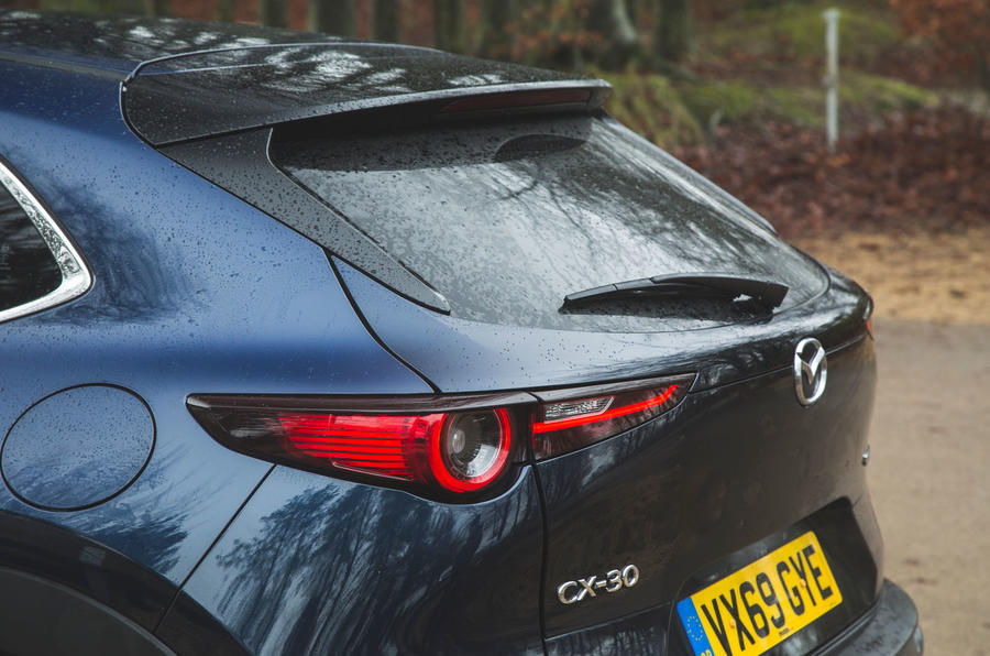 7 Mazda MX 30 2021 : examen à long terme de la partie arrière