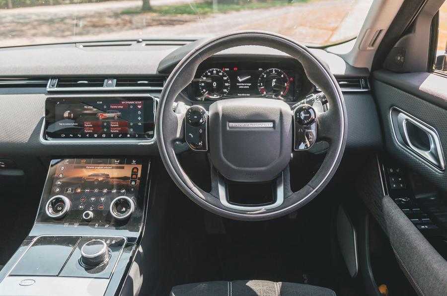 Range Rover Velar 2019 long-term review - dashboard