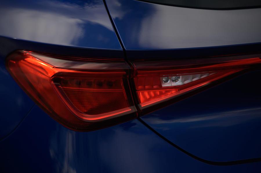 Seat Leon TSI 2021 long-term review - rear lights