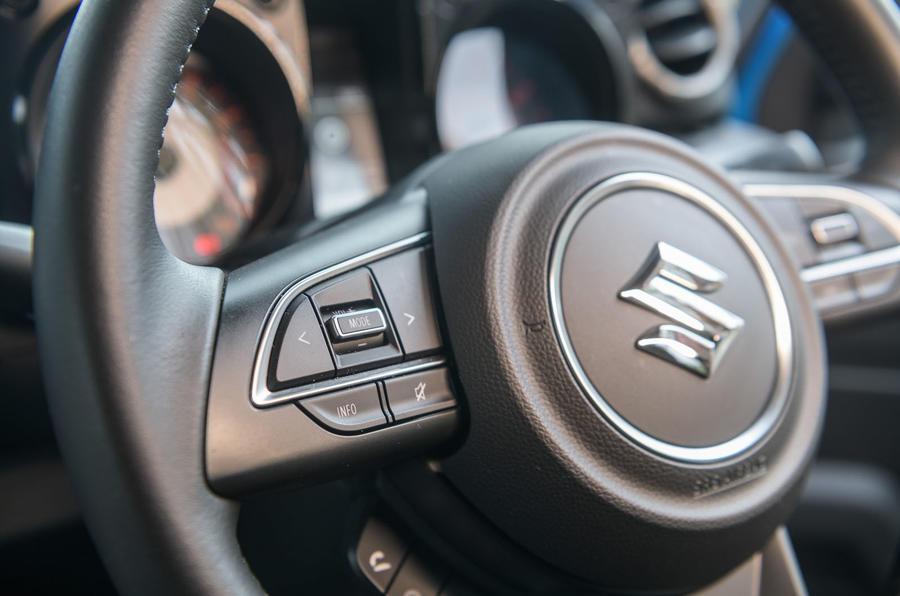 Suzuki Jimny 2019 long-term review - steering wheel