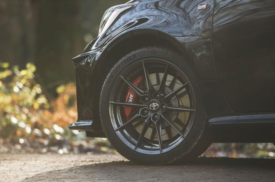 7 Toyota GR Yaris 2021 : révision à long terme des roues en alliage