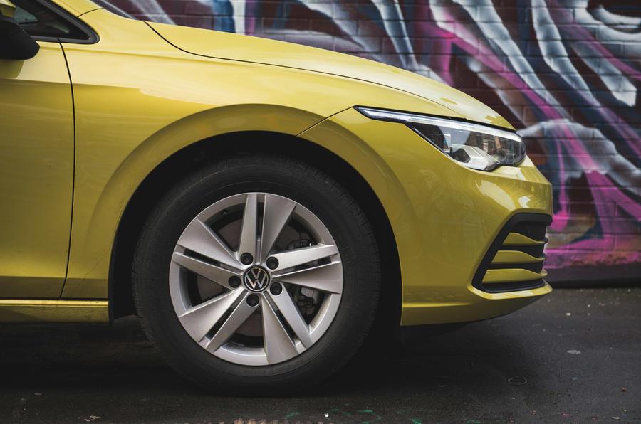 7 Volkswagen Golf 2021 : révision à long terme des jantes en alliage