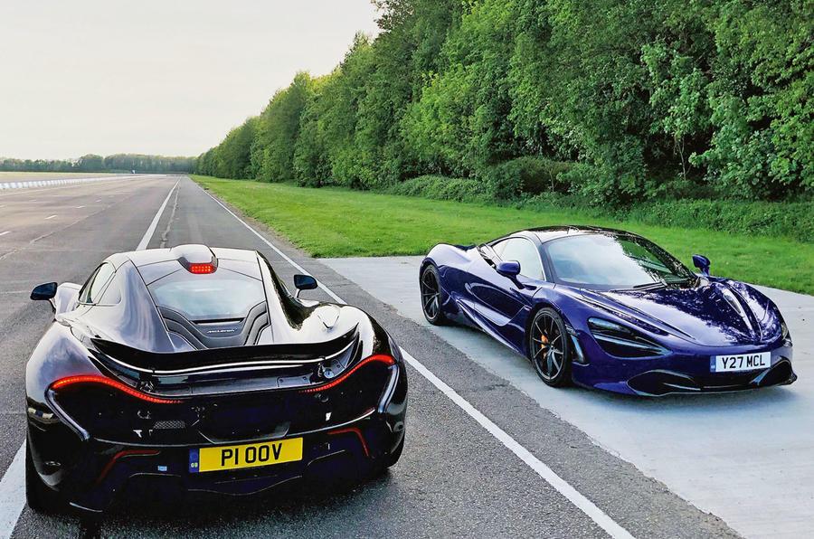 McLaren 720S meets McLaren P1
