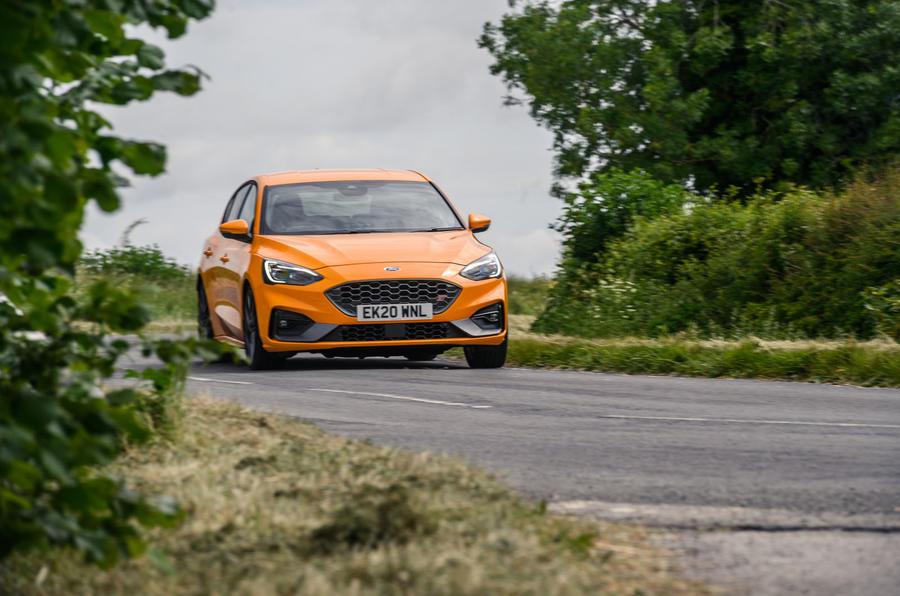 Ford Focus ST 2020 : examen à long terme - sur la route
